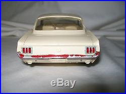 Promo Car 1966 Ford Mustang Fastback by AMT Cream