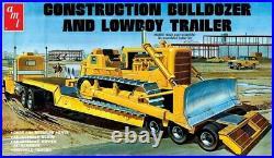 R2AMT1218 AMT 125 Lowboy Trailer & Bulldozer Comb o