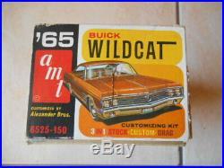 RARE AMT 1965 BUICK WILDCAt ANNUAL KIT