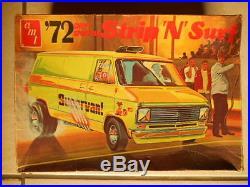 Rare Amt'72 Street N Strip Drag Van Unbuilt
