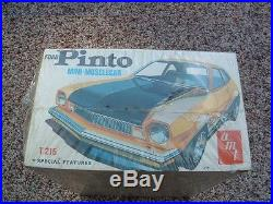 RARE FORD PINTO MINI-MUSCLECAR Vintage AMT Model Kit #T215 FACTORY SEALED