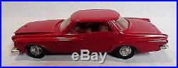 Rare! Four 1960`s Amt And Revell Built Annual 1/25 Scale Vintage Model Car Kits