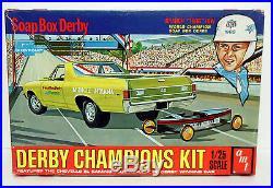 RARE Original AMT 1969 Chevy El Camino Soap Box Derby Champion Mint Kit