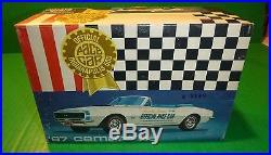 Rare Vintage Amt 1967 Chevrolet Camaro Indy Pace Car Model Car Mountain Vintage