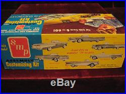RARE VTG 1958 Chevy Impala 3in1 Model/Kit SMP/AMT USA 7CK MINT A++ Time Capsule