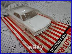 RARE Vintage AMT'64 Corvair Monza SPYDER Body & Accessories NEW OLD STOCK