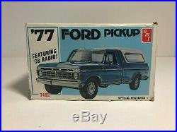 RARE Vintage AMT Ford Pickup Truck 1/25 Scale Model Kit # T482 Made in USA
