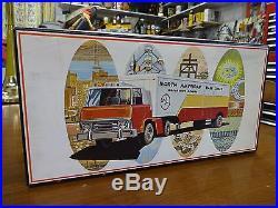RARE Vintage AMT North American Van Lines Scale Model Truck Kit UNBUILT 2020-300