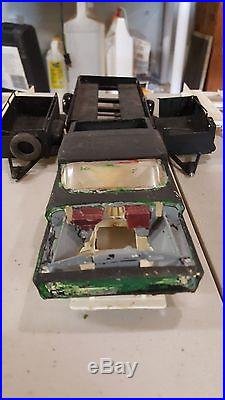 RARE Vintage AMT Pick-up Truck w Trailer Model With 5 DIFFERENT TRAILERS