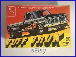 RARE Vintage AMT TUFF TRUK Custom Ford Pickup Truck Model Kit 1/25 Scale T413