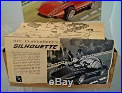 RARITY Vintage 1969 ORIGINAL AMT Bill Cushenbery's Silhouette Model Car Kit