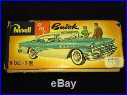Revell Amt Model Car - 1956 Buick Century 4 Door Riviera