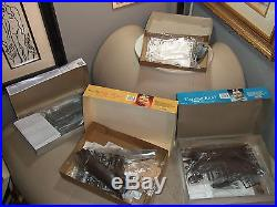 REVELL / AMT/+MORE model kits plastic open box 100% complete lot of 11