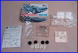 RICHARD PETTY MODELS IN BOX MPC 1-1713 CHARGER AMT T229 DODGE DART MPC 1-1708 C