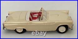 Rare 1955-56 FORD THUNDERBIRD FLY DLX AMT DEALER PROMO 125 Model GARAGE Box