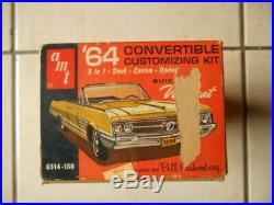 Rare 1964 Amt Buick Wildcat Convertible Annual