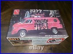 Rare 1977 Kiss Band Custom Chevy Van AMT Model Kit Unbuilt in Original Box