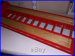 Rare 1/25 1/24 Scale Lowboy Steel Wood Handmade Trailer model AMT