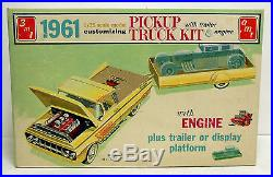 Rare AMT 1961 Ford Pickup Truck Kit Near Mint