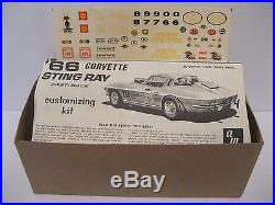 Rare AMT 1/25 Scale 1966 Corvette Stingray