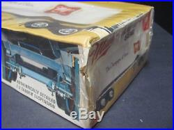 Rare AMT Miller GMC Astro 95 Tractor/Trailer Set, 1/25 Scale Kit Factory Sealed