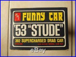 Rare Amt 1953 Studebaker Awb Funny Car
