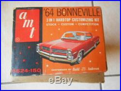 Rare Amt 1964 Pontiac Bonneville Hardtop Annual