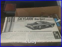 Rare! Amt 1966 Buick Skylark Gran Sport Hardtop Original 1/25 Model Car Kit