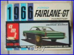 Rare Amt 1966 Ford Fairlane Gasser Annual Kit Unbuilt