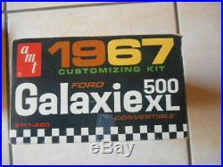 Rare Amt 1967 Ford Galaxie Convertible Annual