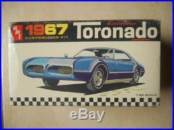 Rare Amt 1967 Oldsmobile Toronado Annual Unbuilt