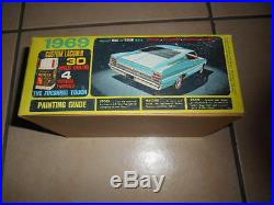 Rare Amt 1969 Ford Torino Stock Car Annual
