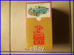 Rare Amt 58 Edsel Unreal Awb Funny Car
