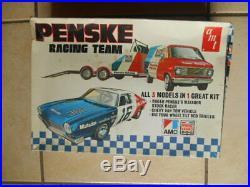 Rare Amt Amc Penske Matador Race Team Unbuilt