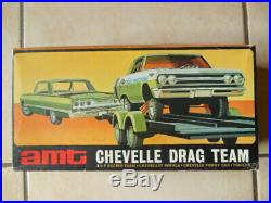 Rare Amt Chevelle Drag Team