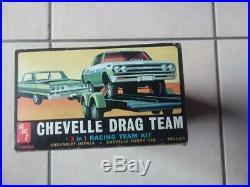 Rare Amt Chevelle Drag Team Unbuilt