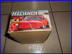 Rare Amt Mach Won Funny Car Red
