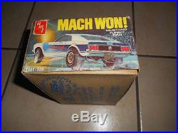 Rare Amt Mach Won Funny Car White