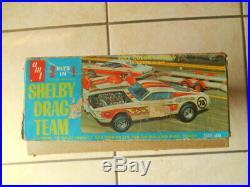 Rare Amt Shelby Drag Team