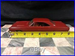 Rare NEAR MINT 1969 Plymouth GTX Dealer Promo Car (Dark Red)