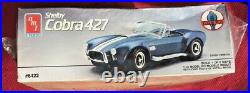 Rare Shelby Cobra 427 Vintage Amt/ertl 116 Scale Sealed Plastic Model Kit
