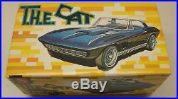 Rare Vintage 1967 Amt T. H. E. Cat Corvette 1/25 Scale Model Kit Nbc Robert Loggia