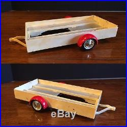 Rare Vintage AMT 1960 FORD F-100 Pickup Truck with Trailer #1360 Built Model Kit