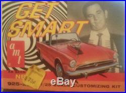 Rare Vintage AMT Get Smart TV Show Sunbeam Tiger Unbuilt Model Car Kit