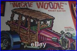 Rare Vintage AMT Wackie Woodie Krazy Kar Kit #903-200
