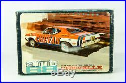 Rare Vintage Open Box Model Car Kit AMT # 5628 200 1968 Chevelle SS 396 ChevAm