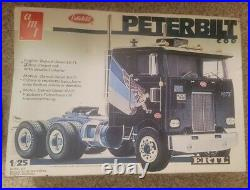 Rare! Vintage Peterbilt Coe Amt 6102 Ertl 6648 125 Scale Model Kit Complete