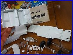 Rare Vintage SMP/AMT'58 Chevy Impala Customizing Kit Partial Build + BONUS