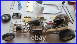 Revell 1/16 Don Snake Prudhomme Army Vega Funny Car Builder Chevy Drag 70s