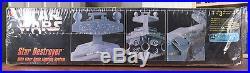 SEALED Star Wars STAR DESTROYER with FIBER OPTIC Lighting, AMT/ERTL Kit #8782